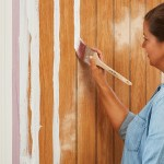 How To Paint Paneling The Home Depot
