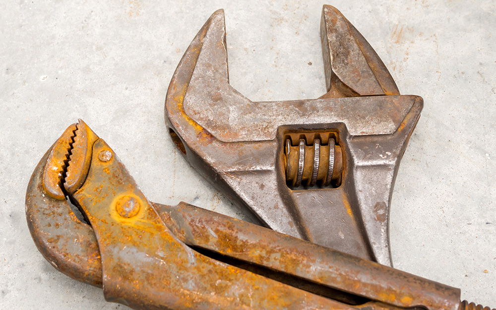 How To Remove Rust From Tools The Home Depot