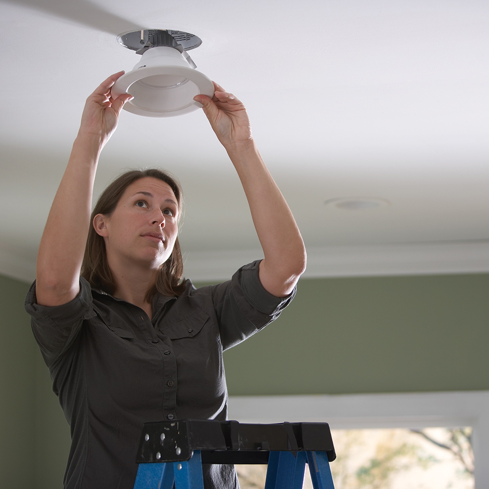 to replace recessed lighting with led