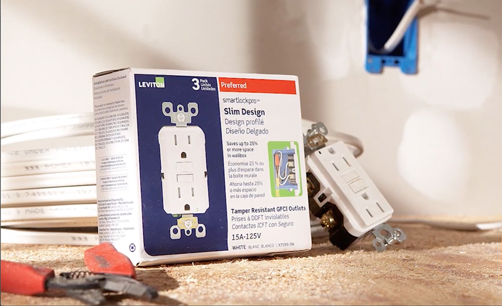 How To Install A Gfci Outlet The Home Depot