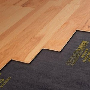 Hardwood Flooring at the Home Depot Hardwood Floor Installation Essentials  Underlayment