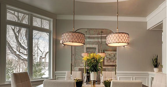 Contemporary Dining Room Lighting