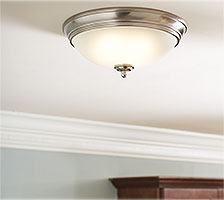 Bedroom Lighting   Lamps   Living Room Lighting at the Home Depot Bedroom Ceiling Lighting Fixtures