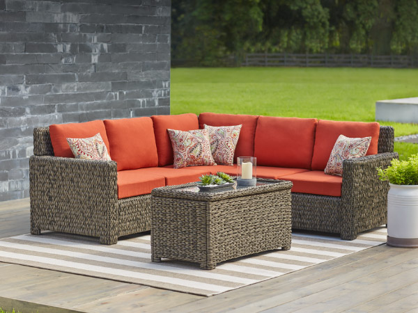 Patio Furniture   The Home Depot Patio Furniture Sets  Patio Conversation Sets