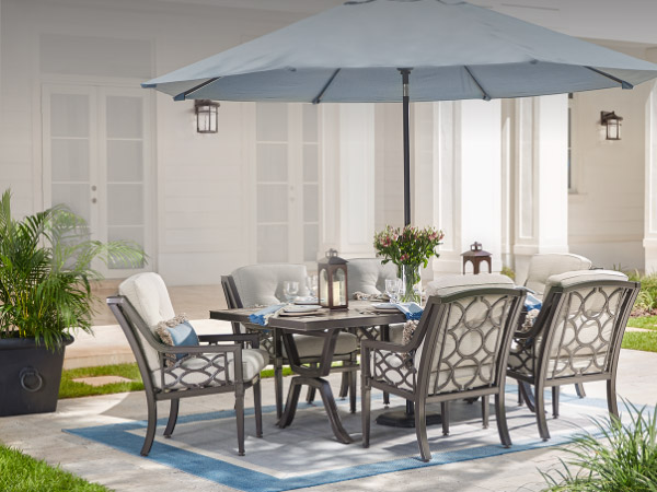 Patio Furniture   The Home Depot Patio Dining Sets
