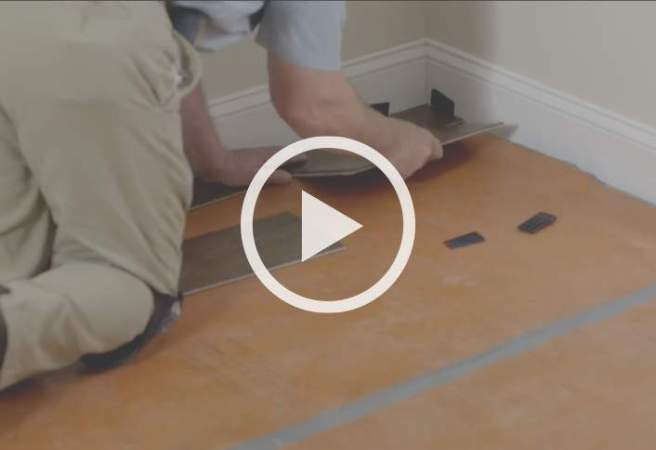 Project Guide  Installing Laminate Flooring at The Home Depot Install Laminate Flooring