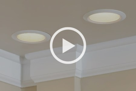 Learn to Install Recessed Lighting at The Home Depot Trim tie back bushes limbs   Paint House Exterior