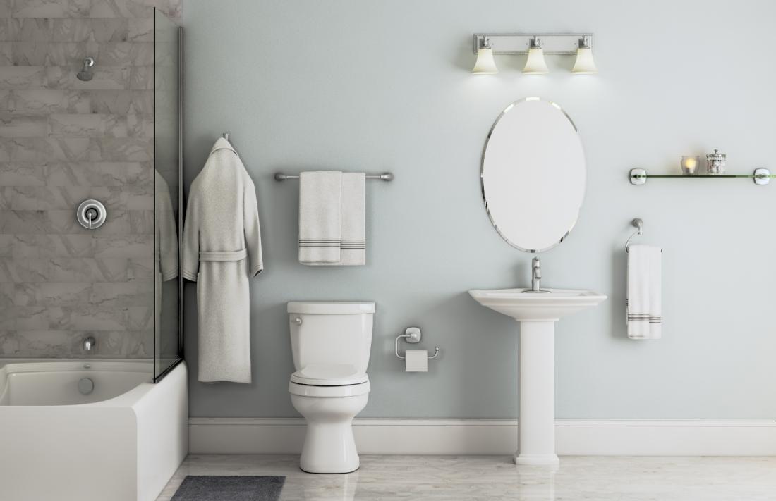 Bathroom Remodeling Trends: Trendy Metallic Fixtures