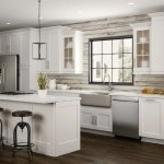Newport Specialty Cabinets In Pacific White Kitchen The Home Depot