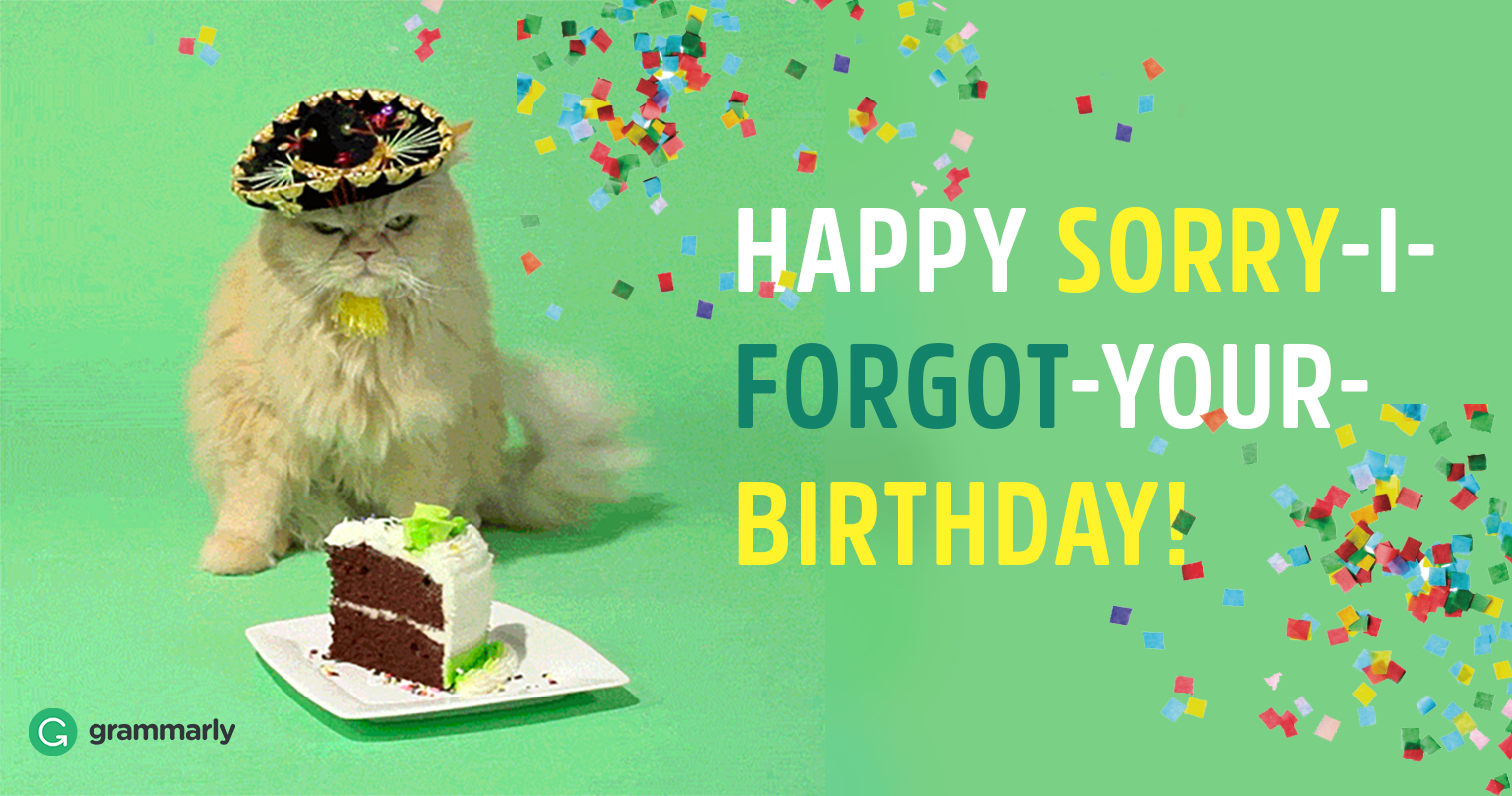 Happy Belated Birthday or Belated Happy Birthday? | Grammarly