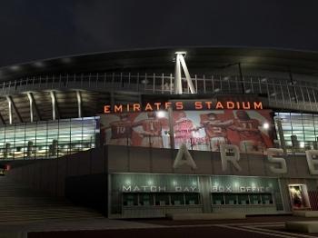 Emirates Stadium, no Fifa 15: jogo não contará com times do Brasil