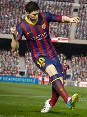 Imagem de Messi no jogo do Fifa 15
