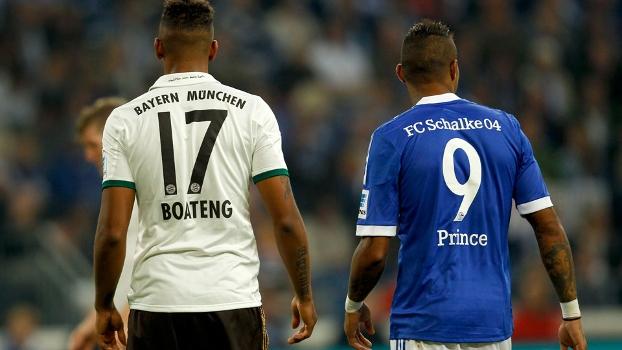 Irmãos Boateng (Jerome, do Bayern, e Kevin-Prince, do Schalke) se enfrentaram