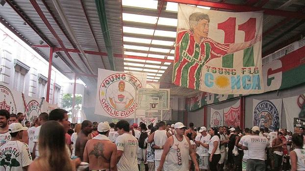 Fluminense Torcida Young Flu Festa Sede do Clube Laranjeiras