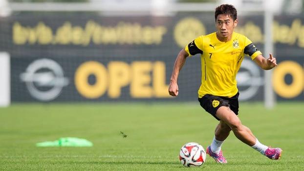 Kagawa fez um gol no jogo-treino do Dortmund nesta sexta