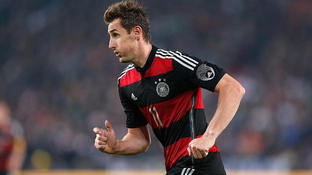 Klose poderá quebrar o recorde de gols em Copas do Mundo de Ronaldo