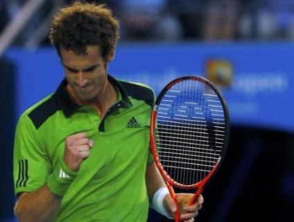 Andy Murray levou a melhor, de virada, sobre David Ferrer; clique e veja lances da partida