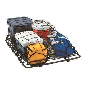 lund roof top cargo rack net
