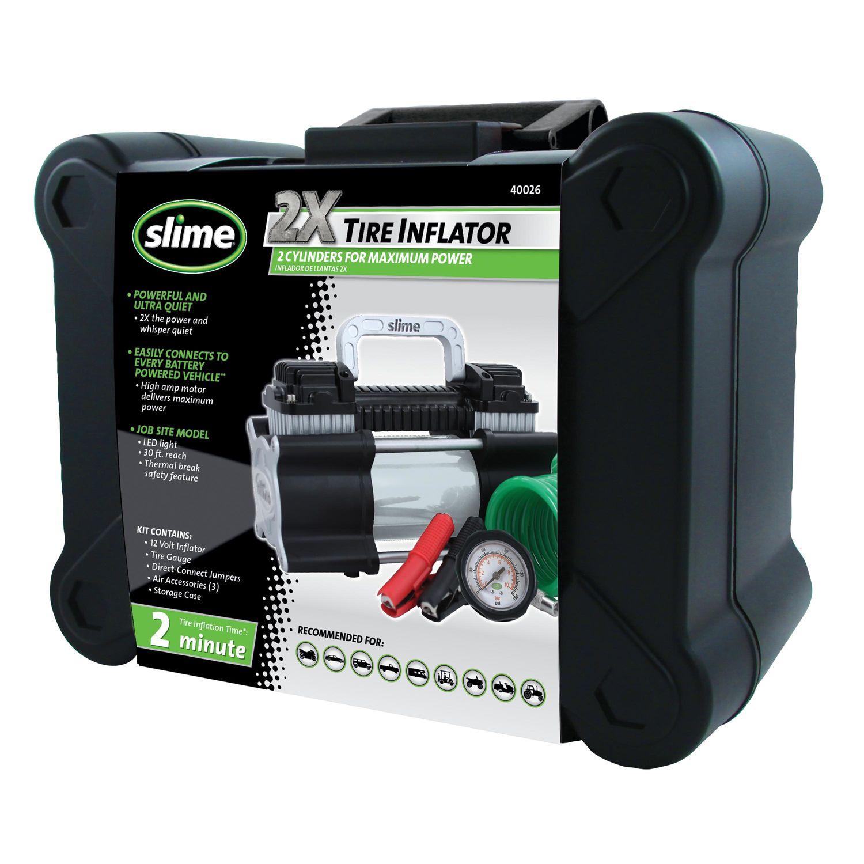 Slime 2x Heavy Duty Pro Power Inflator
