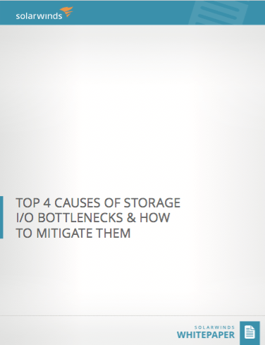 Top 4 Causes Of Storage I/O Bottlenecks & How To Mitigate Them