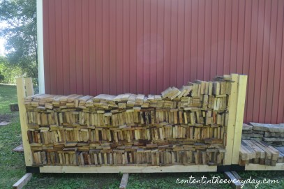 Large stack of Wood