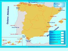 Costas de España. ¿Dónde está?