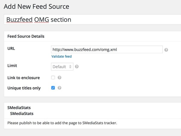 WordPress-RSS-aggregator