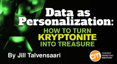 data-as-personalization