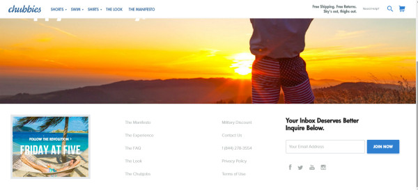 chubbies-website-example
