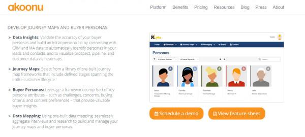 akoonu-personas-screenshot