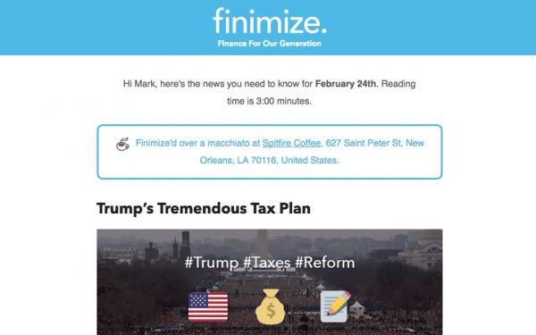 Finimize-newsletter
