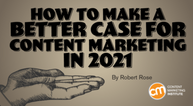 how make better business case content marketing 2021 Twin Front