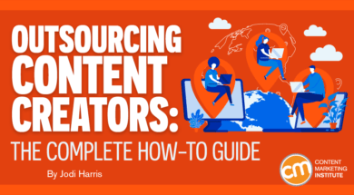 outsourcing content creators how to guide Twin Front