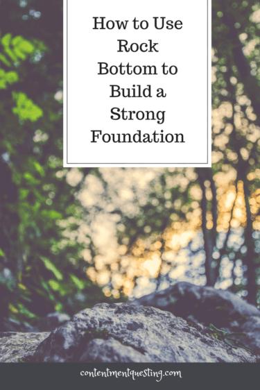 Rock Bottom Foundation, Inspiration, Encouragement