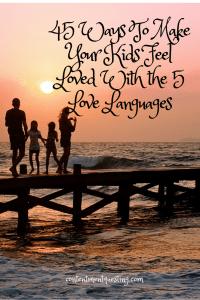 45 ways to make kids feel loved