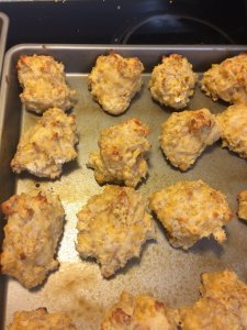 sausage cheese drop biscuits quick easy breakfast done