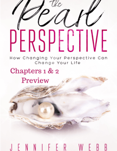 pearl perspective, picture, book, ebook, self help, personal development, contentment questing, jennifer webb