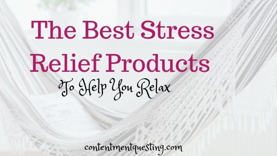 best stress relief products blog banner