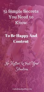 How to Be Happy and Content Pin 3