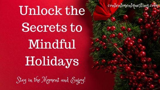 Mindful holidays blog banner