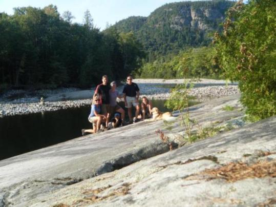 Agawa Canyon, Canada with the gang