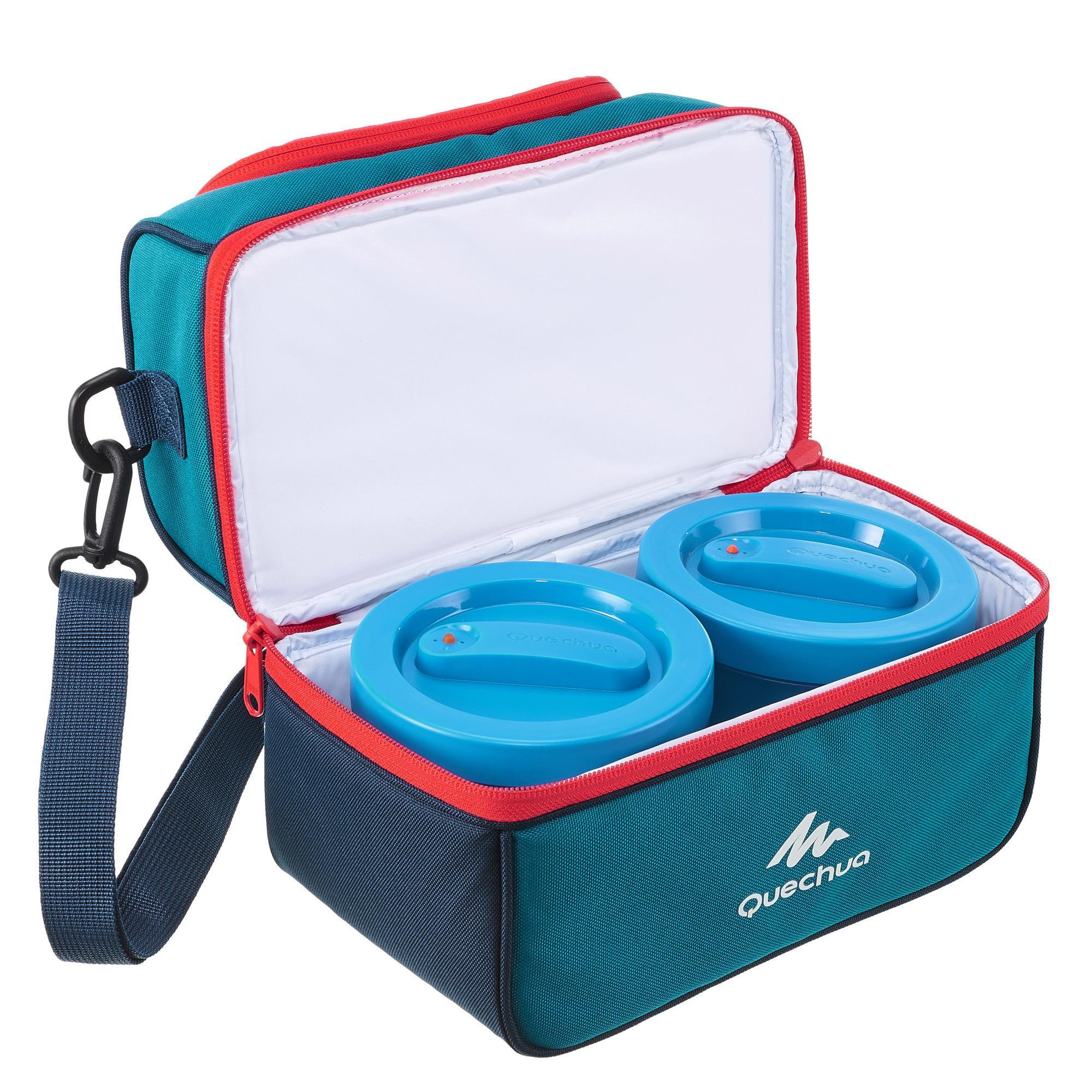 lunch box isotherme 2 boites alimentaires comprises 4 4 litres