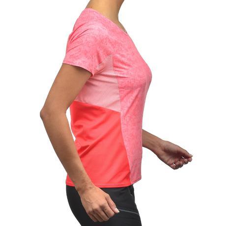 Tee Shirt Manches Courtes De Randonne En Montagne MH500