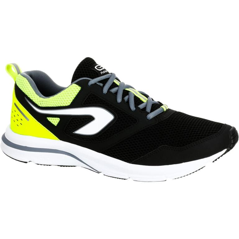 Kalenji Run Active Mens Running Shoes Black
