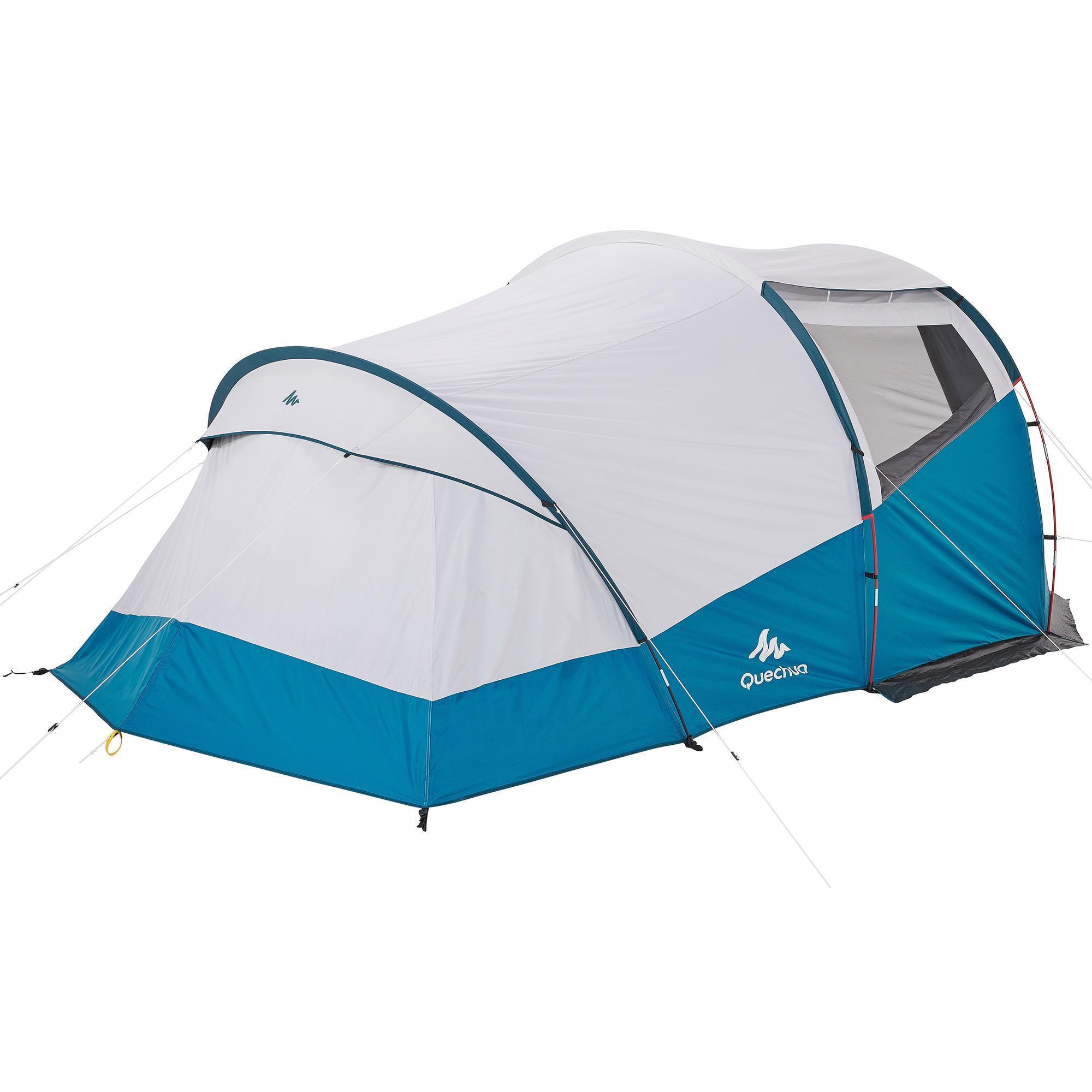 tente a arceaux de camping arpenaz 4 1 f b 4 personnes 1 chambre