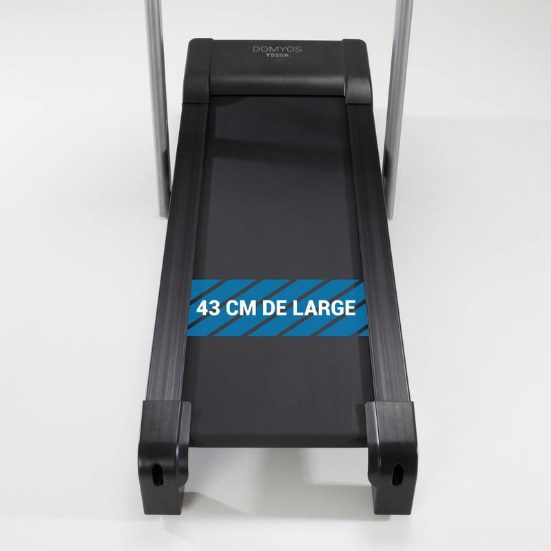 tapis de course t520a in domyos by