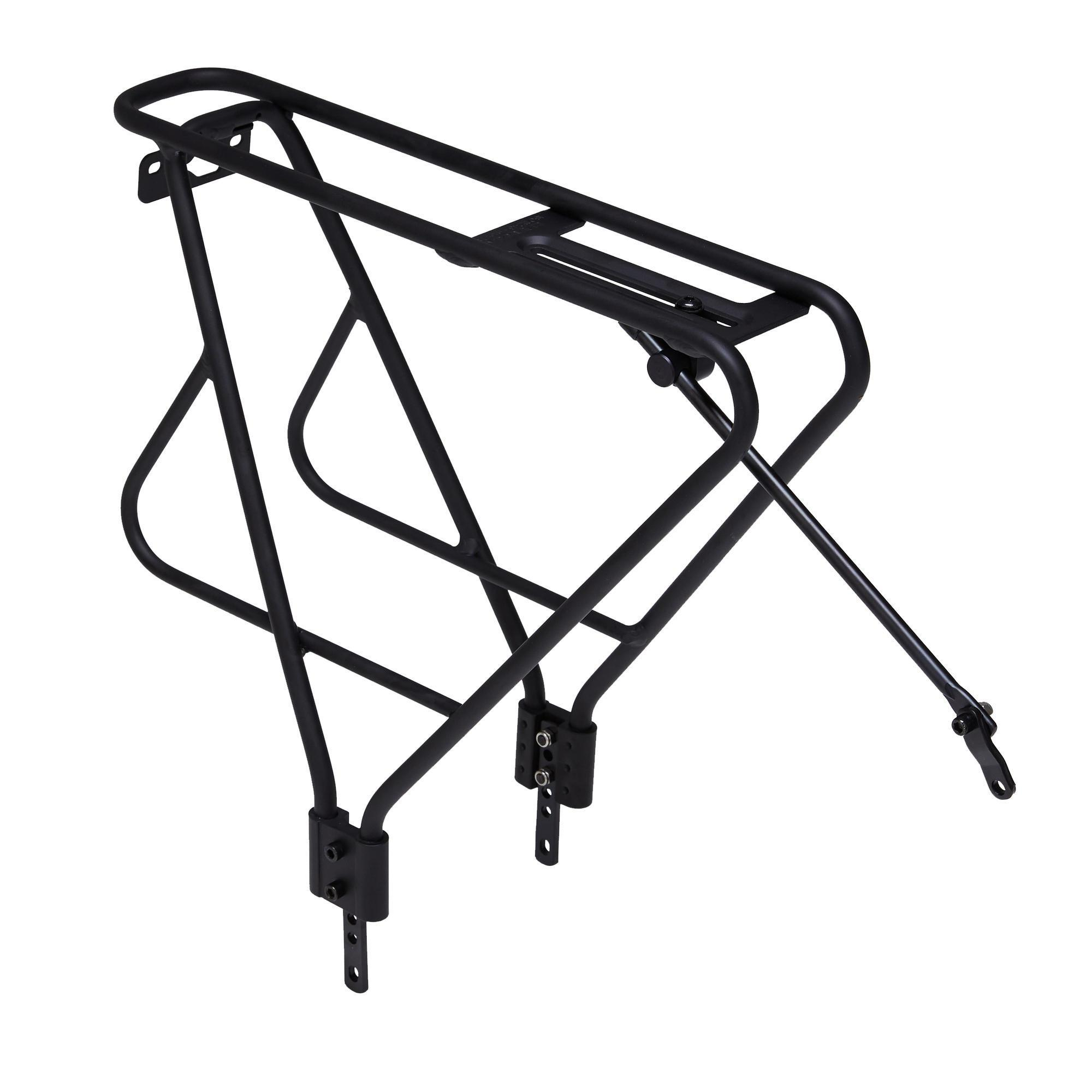bike baskets pannier racks decathlon