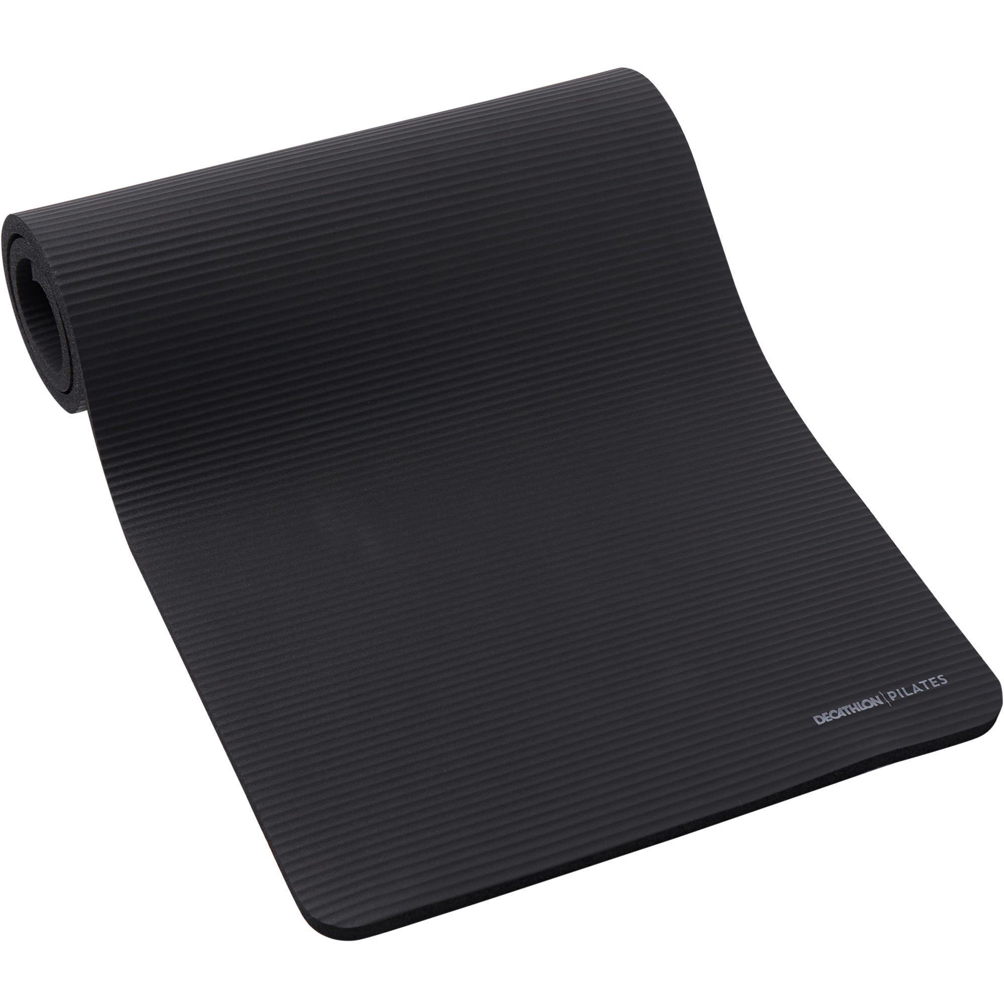 tapis de sol confort fitness 190cmx70cmx20mm noir