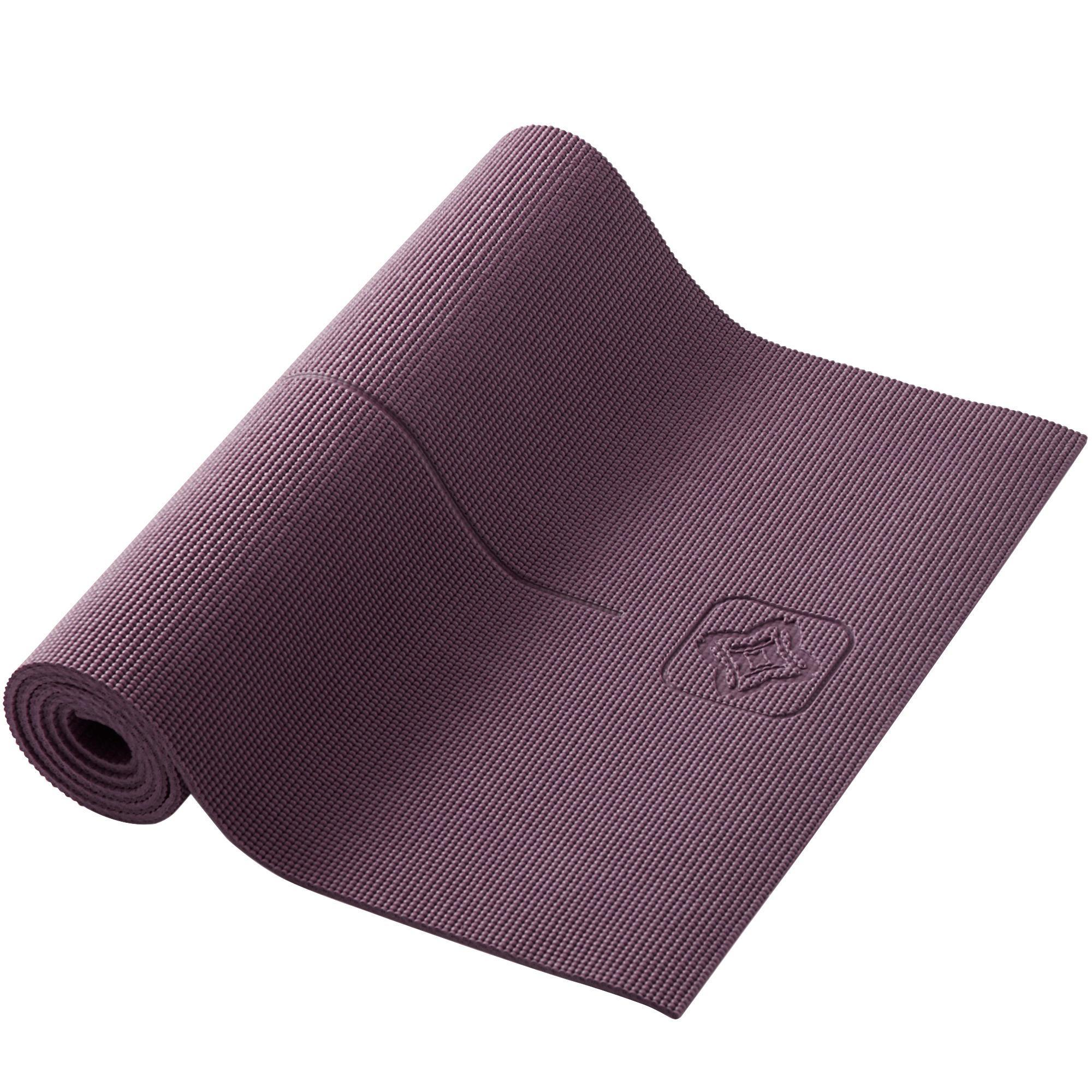 tapis yoga doux confort 8 mm