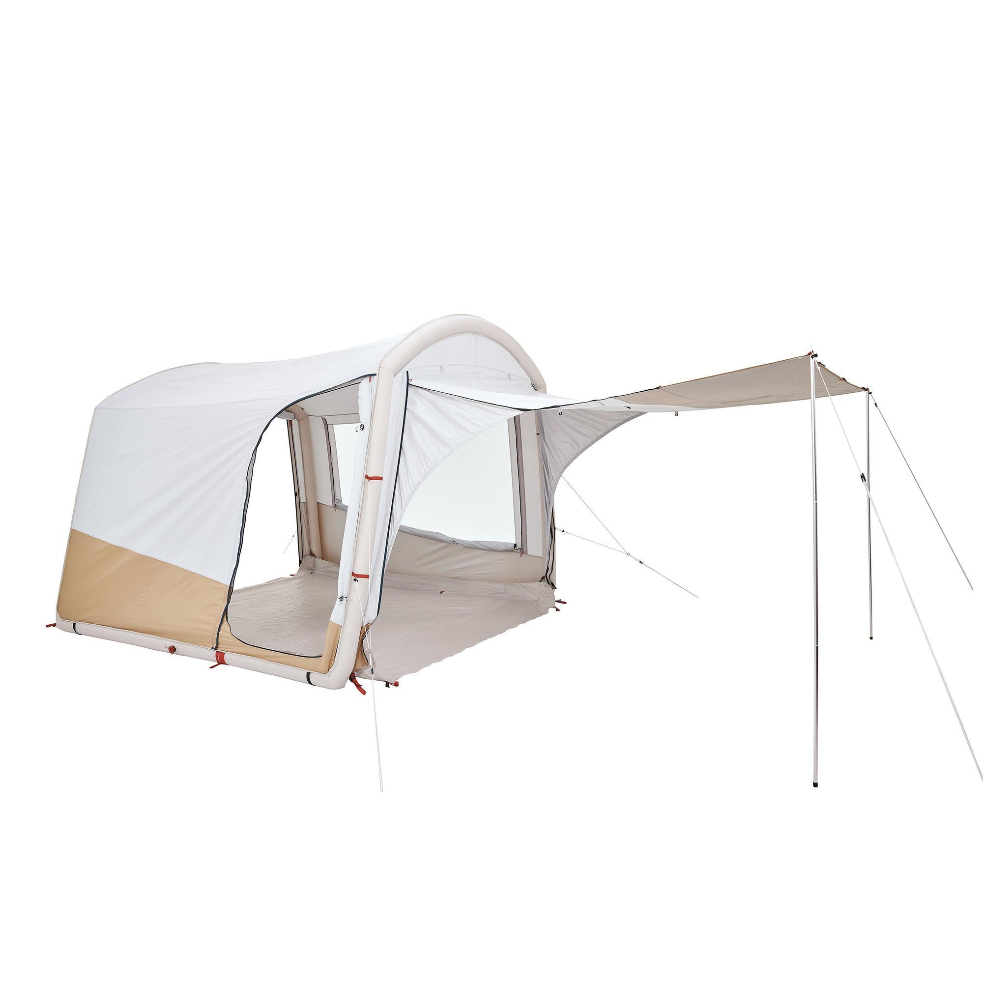 sejour gonflable de camping air seconds base connect fresh 6 personnes